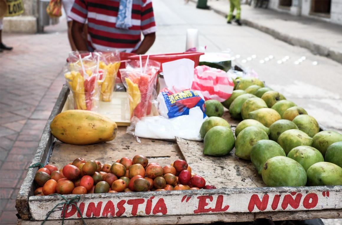 fruit stand street man photography