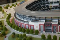 Amazing details not spared in SunTrust Park Model.