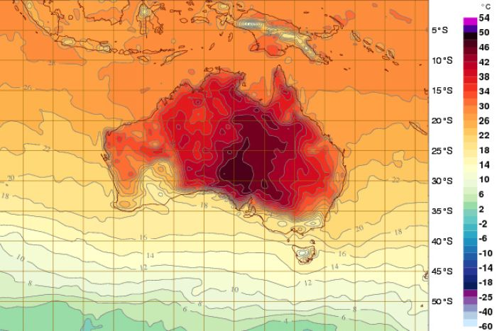 Welcome to 2014/ Australia's scary heatwave starts the New Year.