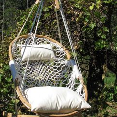 Rope Chair Swing Computer No Wheels Hammock Chairs Porch Swings Outdoor Furniture Cobble Mountain Hanging By Co