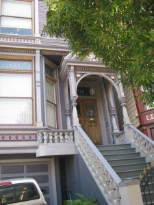 The house in San Francisco where the Grateful Dead lived from 1966 to 1968