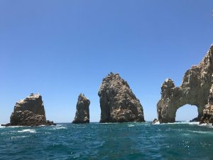 The famous El Arco or Arch at the southern tip of the Baja