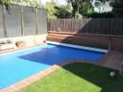 Persiana para calentar agua piscina
