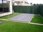 Suelo movible protección piscina