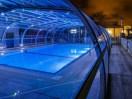 Llums en cobertes de piscina