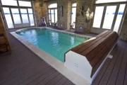 Cobertor para piscina interior