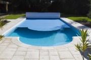 Cobertor de lamas de PVC de piscina