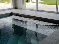 Cobertor enrollable piscina