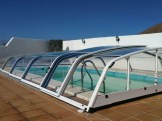 Cubierta de piscina Ibiza