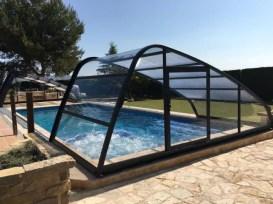 Cubierta para calentar agua piscina