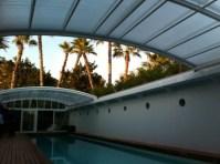 Techo motorizado para cubierta piscina privada