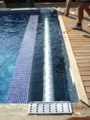 Eje en aluminio o composite dependiendo de la medida de la piscina
