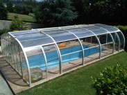 Aperturas en techo, laterales y forntales en su cubierta de piscina