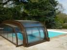 cubierta piscina con motor.