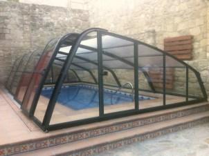 cubierta piscina elegante