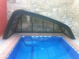 cubierta piscina replegable