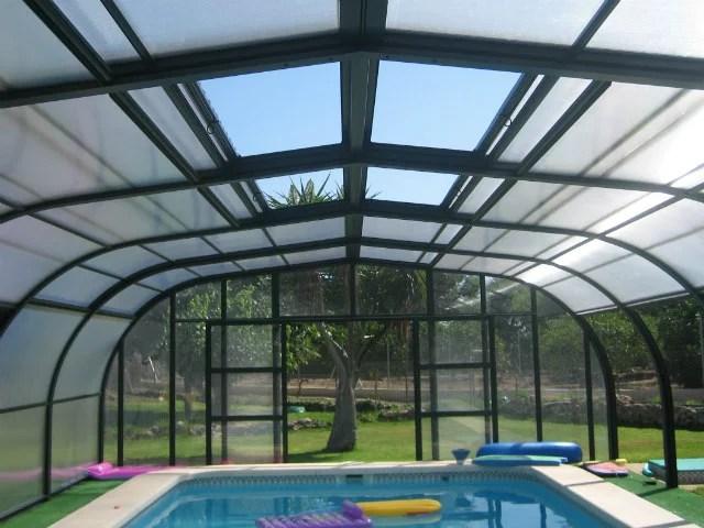 Sostre coberta piscina