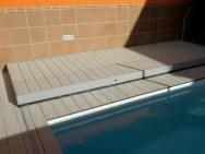suelo movil tapar piscina