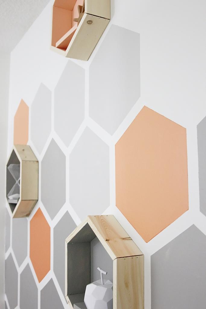 Pitture Geometriche Sulle Pareti Non Il Solito Colore Cobimbo