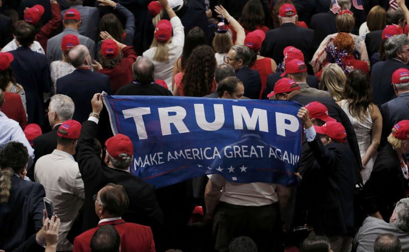 Trump Supporters Launch An Attempted Coup.  It's Bloodless (Right Now)