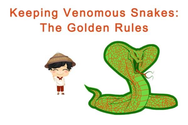 Keeping Venomous Snakes