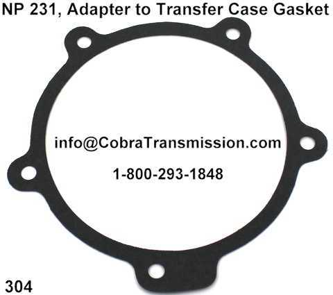 NP 231, Adapter to Transfer Case Gasket