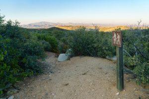 Hiking trail to mountain