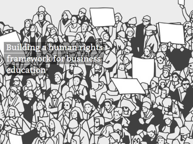 EFMD, the European Foundation for Management Development, and a major quality assessor and accrediting body via EQUIS for schools of business and management throughout the world, calls for a UN-based human rights framework to help shape tomorrow's responsible leaders.