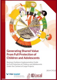 Children's rights in Brazil, creating shared value for businesses and large-scale proejcts