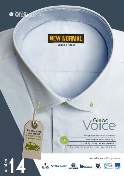 Council on Business & Society Global Voice magazine #14