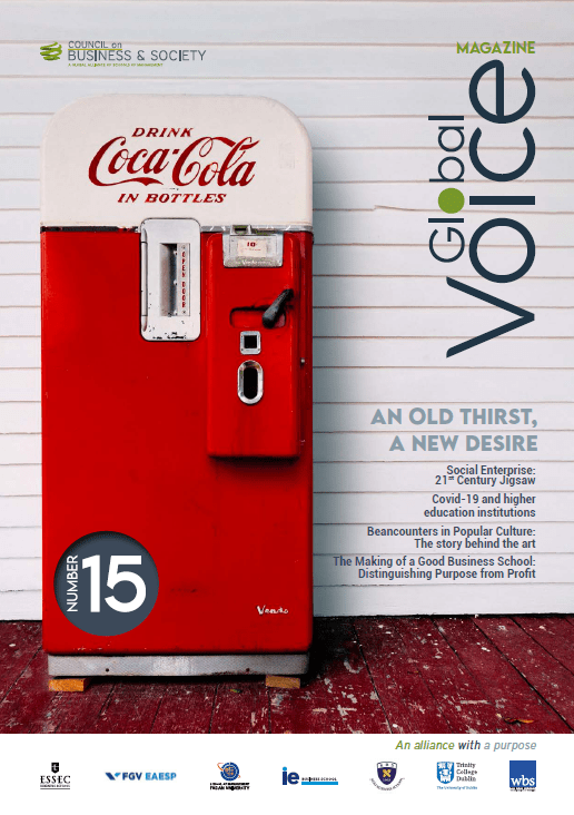 Global Voice magazine issue #15: 100 pages of insights on CSR, leadership, management, healthcare, business education, entrepreneurship and social enterprise from the Council's 7 leading schools of business and management + guests