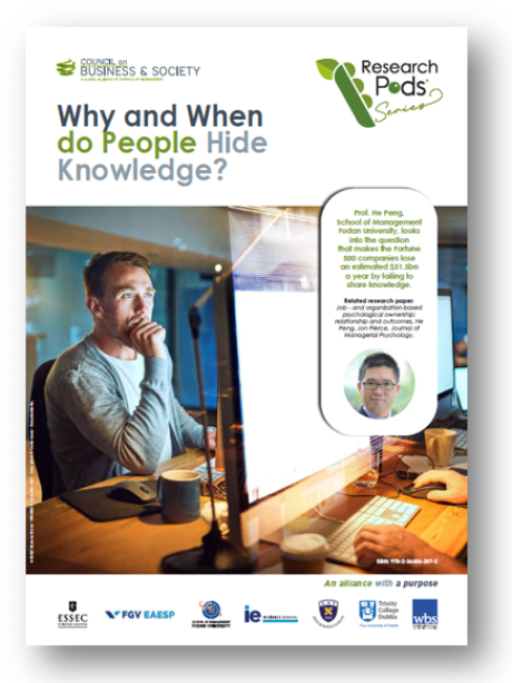 Understand why and when employees hide knowledge and develop and implement an effective strategy to encourage knowledge sharing.