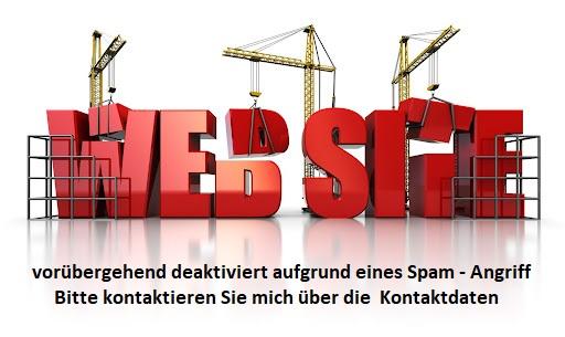 Webseite deaktiviert