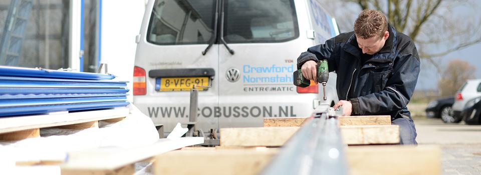 Onderhoud en reparatie van bedrijfsdeuren overheaddeuren