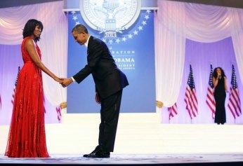 21. Baile presidencial durante la segunda toma de posesión de Obama (AP)