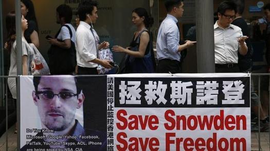 23. Snowden sale de Hong Kong
