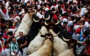13. Tapón en Pamplona (Reuters)