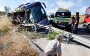 8. Nueve muertos en un accidente de autocar en Ávila (Efe)