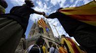 11. Catalunya se abre camino con su Via Catalana (AFP)