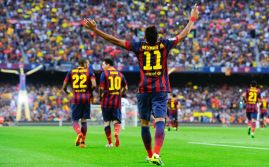26. Neymar y Alexis se llevan el clásico (Getty Images)