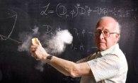 8. Higgs, Nobel de Física con su partícula de Dios (Murdo Macleod)