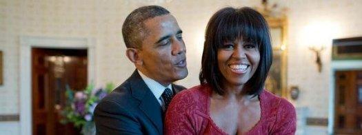 19. Michelle celebra los 50 bailando (Barack Obama)
