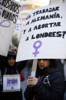 1. Multitudinaria manifestación contra la ley del aborto (Samuel Sánchez)