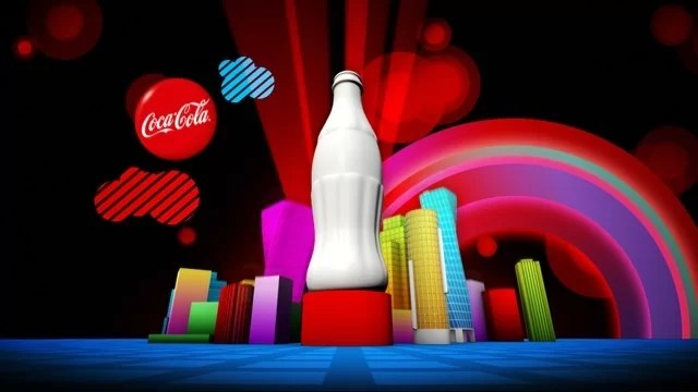Coca-Cola : Night Visuals 2010
