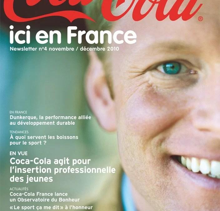 Coca-Cola ici en France : numéro 4