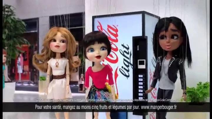 Nouvelle publicité Coca-Cola Light : Love it light