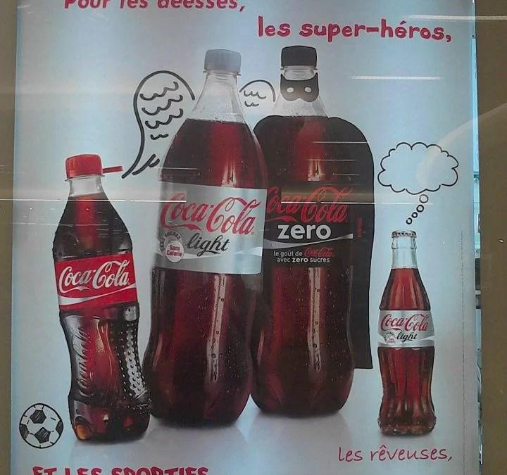 Coca-Cola affiche ses voeux 2012