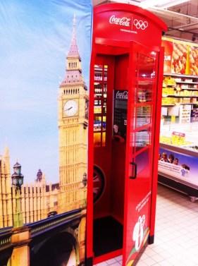 Opération commerciale Coca-Cola / JO Londres