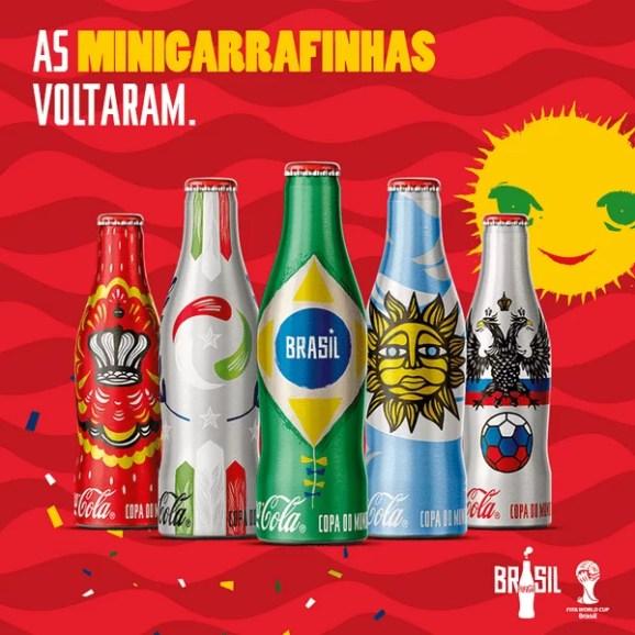 Mini-bouteilles Coca-Cola (Brésil)