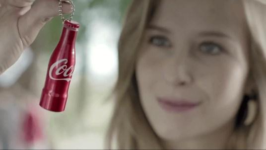 Mini-bouteille Coca-Cola (Brésil)
